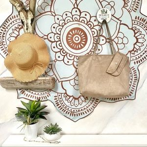 Amazing ROOTS tote BAG w build in wallet in TRIBE✨
